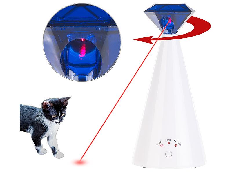 Training elektrisches Katzenspielzeug Laserspielzeug für Katzen Laser Toy Spiel Katzen