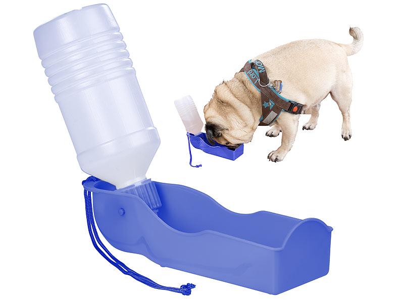 Sweetypet Tragbarer Wasserspender f. Hunde, inkl. Trageschlaufe, 250 ...